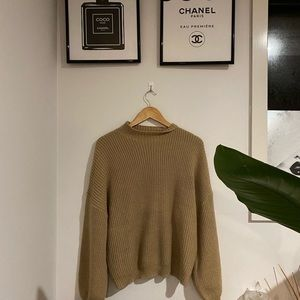 🌻ShowPo Oversized Mocha Knit